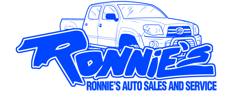 Ronnies Auto Sales and Service Logo